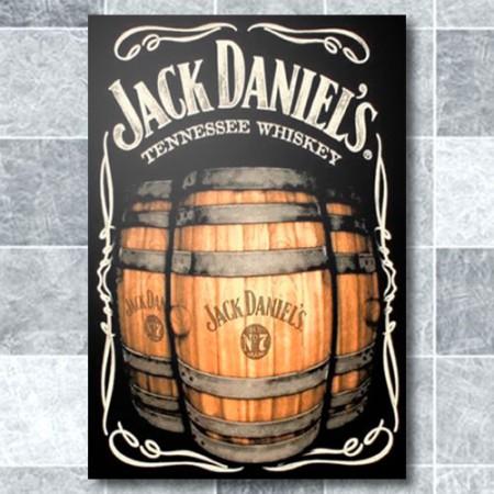 Quadrinho Decorativo - Barril Jack Daniels
