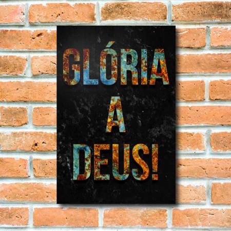 Quadrinho Decorativo - Glória Ferrugem