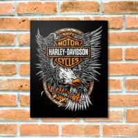 Quadrinho Decorativo - Harley Águia