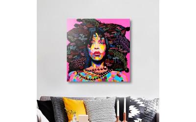 Quadros com Fotos - Afro