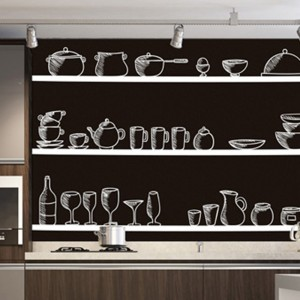 Decorativos de Recorte - Peças de Cozinha